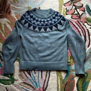 Ann Taylor Teal Sweater